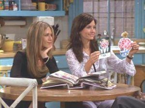O caderno de casamento da Monica - Friends